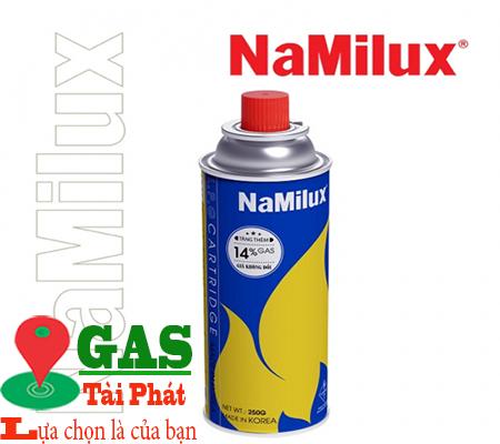Lon Gas Mini Namilux Màu Xanh